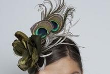 Peacock Fascinators & Peacock Headpieces / #Peacock  #Fascinators #Online / by Forever Fascinators