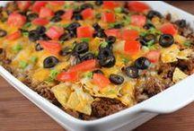 Casseroles / Recipes for casseroles / by Christine Leach McIntire