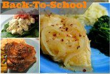 Back To School Recipes / Recipes for School days / by Christine Leach McIntire