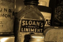 Old meds and medical stuff / by Sandra Sheehan