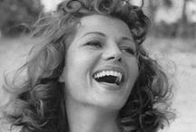 """Rita Hayworth / """"Every man I knew went to bed with Gilda and woke up with me."""" Rita Hayworth   / by farisakhalid"""