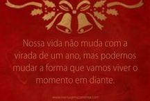 Feliz Natal / Merry Christmas / Frases e mensagens para o seu natal. Em inglês e português. / by Mensagens com Amor