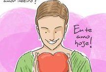 Eu te amo hoje! / Eu te amo hoje! Um diário de amor enquanto o amor for diário. https://www.facebook.com/EuTeAmoHoje / by Mensagens com Amor