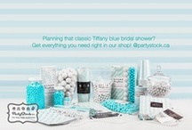 Tiffany Blue Party / Inspiration for a Tiffany Blue themed party / by Partystock