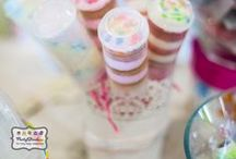 Push Pop Container Ideas / Push Pops are so popular and so much fun to make and eat!  Find lots of ideas here and find the containers in our shop: www.partystock.ca / by Partystock