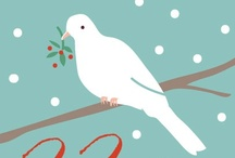 Christmas graphics-animals/birds / by Mabel McCracken
