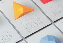 Calendar / Calendar design / by LeMaksim