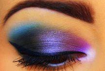 Colorful eyes / Make up / by Heydi Sánchez