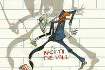 Patron Gerald Scarfe / Illustration from our patron Gerald Scarfe. www.campaignfordrawing.org / by The Big Draw