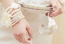 Tea Break... / China and finger food.  / by Clara Singleton