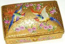 Antique Boxes - Dresser, Jewelry, Trinket, Casket / by Debbie Klinzing 2