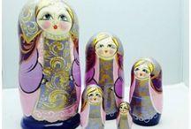 Matryoshkas / Russian nesting dolls / by Paola Acuna-Chacon