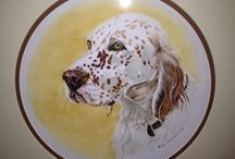 Setters / Dedicated to our Sadie.. Most regal dog EVER / by Linda Prentice