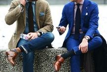 FASHION : Man Style / Moda masculina.Hombres estilosos.Estilo y outfit para varones...Me gustan como se visten y lucen (actores, cantantes, modelos, etc) Male Fashion. Style and outfit for men ... I like the way they looks (actors, singers, models, etc.) / by Solita