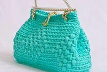 Crochet Bags-Purses-Coin purses / Crochet bags, purses, coin purses / by Anastasia Gr