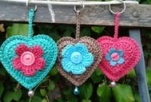 Crochet keychains / by Anastasia Gr