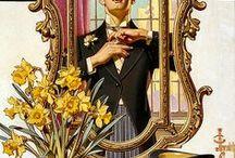 Vintage Gentlemen's suit / The past of a welldressed man / by Jean Leonard Patsamu