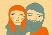 illustrations / by Bettina M