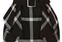 FIGURÍN. / Diferentes hechuras de vestidos, faldas, blusas, etc para la confección de los modelos. / by Rosibel Flores Solera