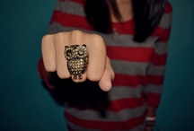 For the Love of Owls. / by Kristina Roseberry