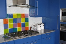 Color In The Kitchen / The best places to add color in any form to spice of the kitchen and give it interest.  From some of the best in kitchen design.  / by Decor Girl - Lisa M. Smith - Interior Design Factory, Ltd.