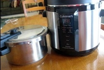 Electric Pressure Cooker Recipes / by Terry Whitaker