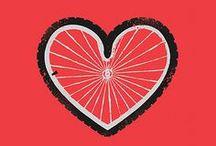 #Bike #Art / #Illustrazioni, #immagini, #poster e creazioni sulla #bicicletta - #Illustrations, #pictures, #posters and #paintings of #bike / by Cyclopride