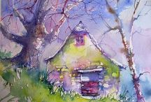 ART / WATERCOLORS / OIL PAINTINGS / by Michelle