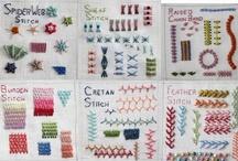 Embroidery Stitches... / by Banu Abdusselamoglu