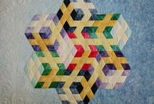3D quilt blocks and quilts... / by Banu Abdusselamoglu