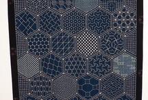 Sashiko embroidery... / by Banu Abdusselamoglu