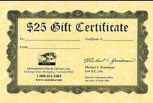 Great Gifts / ICCoin offers lots of great gifts for the coin enthusiast in your life! / by ICCoin