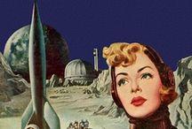 Vintage Sci Fi / by Laura Metzler