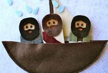 Bible felt projects / by Monica Stoner