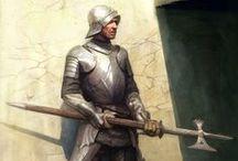 Fantasy: ⚔ warriors & knights / by B ℍᴬᴿᴰᴱᴺ