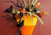 Fall wreaths / by Debby Blundell Johnson