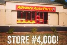 Advance Auto Parts Stores / Photos of our stores from the past and the present! / by Advance Auto Parts