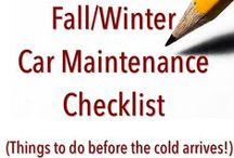 Winter Car Care Tips / There's no escaping it, the cold and rain are on their way. These are some tips and products we recommend to best prepare and weather the weather!  / by Advance Auto Parts