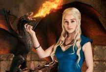 Game of Thrones / Ich bin Daenerys Sturmtochter vom Blut des alten Valyria und ich nehme mir was mein ist! Mit Feuer und mit Blut werde ich es mir holen! - Daenerys Targaryen  / by ✿ ❀ Birte ✿ ❀