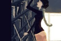 Love of Books. / Quotes, Pictures and Other  Things Relating to Books. / by Jennifer Putnins