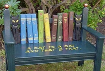 FUN~ITURE / Upcycled , DIY Fun Furniture and  makeover painting ideas. / by Cathy Pinteralli