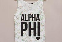 Alpha Phi Apparel / by ASU Alpha Phi