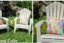 Sewing [on the blog] / DIY Sewing projects on the blog. / by Elizabeth and Julia {Southern Color}