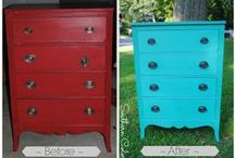 Painted Furniture [on the blog] / Painted Furniture from SouthernColor.blogspot.com / by Elizabeth and Julia {Southern Color}