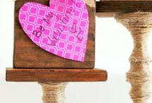 Valentines [on the blog] / Valentine's Day Craft & DIY Tutorials / by Elizabeth and Julia {Southern Color}