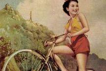 Vintage Asian / Predominantly Vintage Chinese and Japanese (Shanghai Beauties, Cigarette & Perfume Ads, Propaganda Posters, etc.) • Pinterest.com/ScottMonaco •More at: QuietYell.com / by Scott Monaco