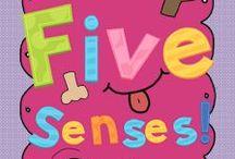 """Class Act"" Five Senses / by Jenna Barrett"