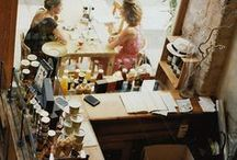 Espacios públicos.  / Restaurantes, bares, hoteles... Invitad a quien le pueda gustar estar  / by rosa nicolau
