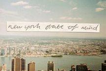 new york city / by Deborah Abdel-Hadi