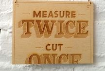 Woodworking - Shop Ideas / Woodworking ideas and shop layout ideas / by Travis Ortner